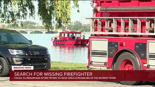 Search Underway for Missing Detroit Firefighter