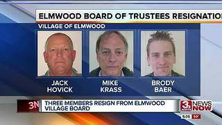 Elmwood without a voting quorum after board resignations - Video