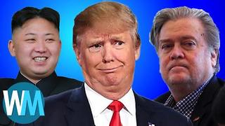 Top 10 Moments from Trump's First Year