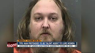 Police: Man pretended to be talent agent to lure women - Video