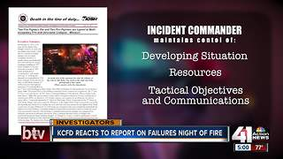 National report released on 2015 deaths of KC firefighters John Mesh, Larry Leggio - Video