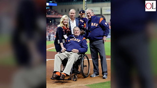 George H.w. Bush Calls President Trump A 'Blowhard' - Video
