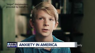 New documentary featuring metro Detroit fifth grader focuses on anxiety - Video