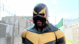 Real-Life Kick-Ass Superhero - Video