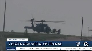 2 dead in Army special ops training