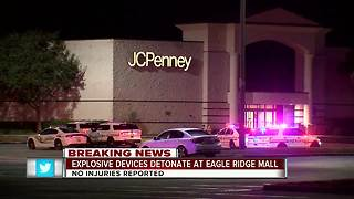 Explosive devices detonate at Eagle Ridge Mall - Video