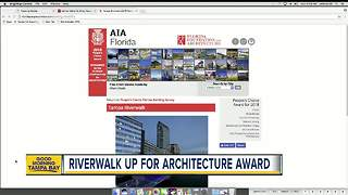 Tampa Riverwalk nominated for '2018 People's Choice Award' in statewide architecture contest - Video