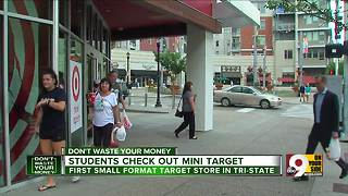 Ohio's first mini Target store opens in Cincinnati Don't Waste Your Money - Video