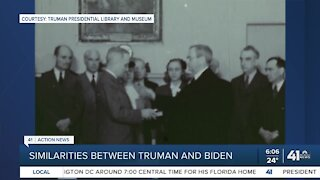 Similarities between Truman and Biden