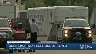 Oklahoma Task Force One deployed to help with Hurricane Sally