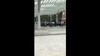 Band under canopy