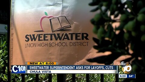 Sweetwater superintendent to ask for layoffs, cuts