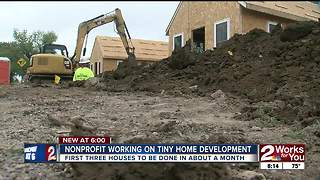 Nonprofit working on 'Tiny Home' development - Video