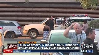 UPDATE: Harley Davidson employee surprised customer was bank robbery suspect - Video
