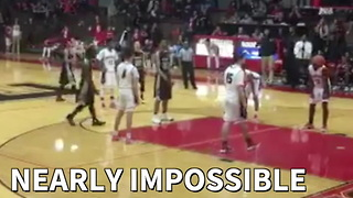 Nearly Impossible Miracle Shot Wins Playoff Game - Video