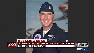 Identity of Thunderbird pilot who died released - Video