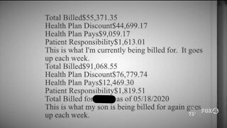 Medical bills for COVID-19 treatment start trickling into Florida patients