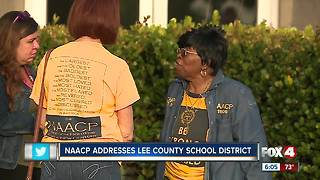Lee County NAACP calls on change from the school district - Video