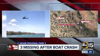 Boat victim found on Colorado River, three still missing