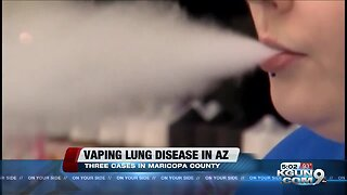 Arizona reports cases of vaping-related respiratory illness