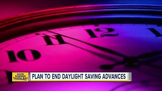Plan to end daylight saving advances - Video