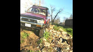 #reviveruby first time offroad