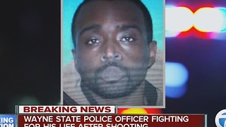 Who is the suspect who shot the Wayne State University police officer - Video