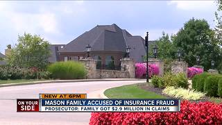 Mason family accused of insurance fraud, money laundering - Video