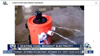 11 ways to cool off when you don't have power - Video