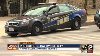 Deadly Shooting in Baltimore - Video