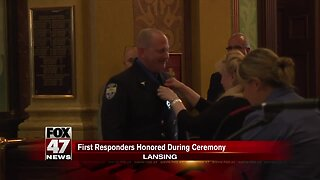 First Responders Honored During Ceremony
