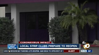 Local strip clubs prepare to reopen