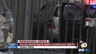 Man shot, killed before crashing in Chula Vista - Video