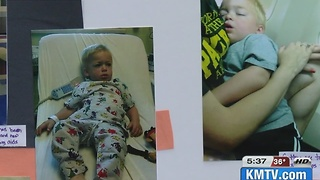 Papillion Fire Department Helps Raise Money for Boy with Rare Disease - Video