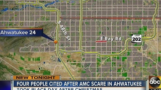 Police cite 4 people in AMC theater scare - Video