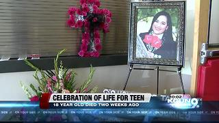 Community celebrates life of Victoria Arias - Video