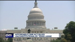 Texas federal judge rules ACA is unconstitutional