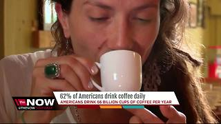 62% of Americans drink coffee daily - Video
