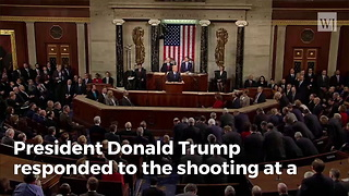 President Trump Responds To Florida School Shooting - Video