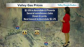 Gas prices down about 5 cents in the Valley - Video