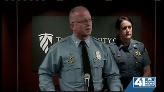 WyCo officials give update on deputies shot - Video