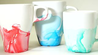 DIY nail polish coffee mugs - Video