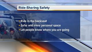 Staying safe when using Uber and Lyft