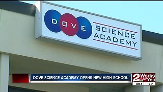 Dove Science Academy opens new high school