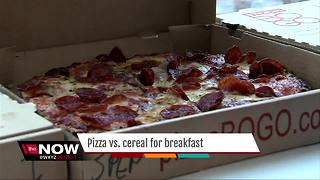Ask Dr. Nandi: Is pizza a better breakfast than cereal? - Video