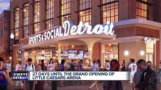 Little Caesars Arena 101 - Video