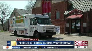 Mobile food truck to help families in need this winter break - Video