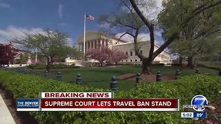 Supreme Court Justices allow Trump administration ban on most refugees - Video