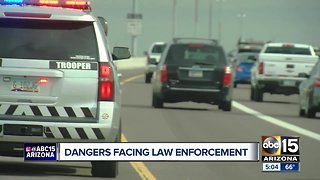 ABC15 rides along with DPS to see the dangers law enforcement faces on Valley roads
