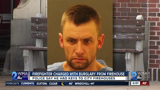Police: Firefighter on leave arrested after stealing chainsaw from firehouse